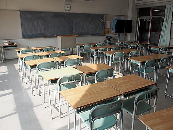 春日部共栄中学校 教室