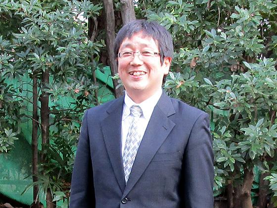 数学科主任/小林 都央先生