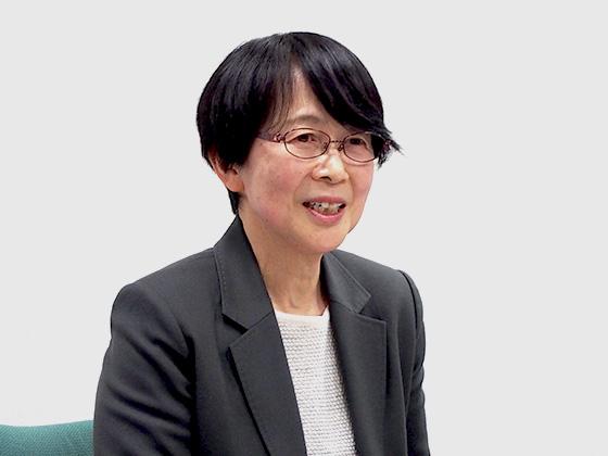 理科主任 地学科教諭/大塚由紀子先生
