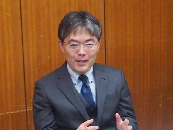 社会科責任者/高田 学先生