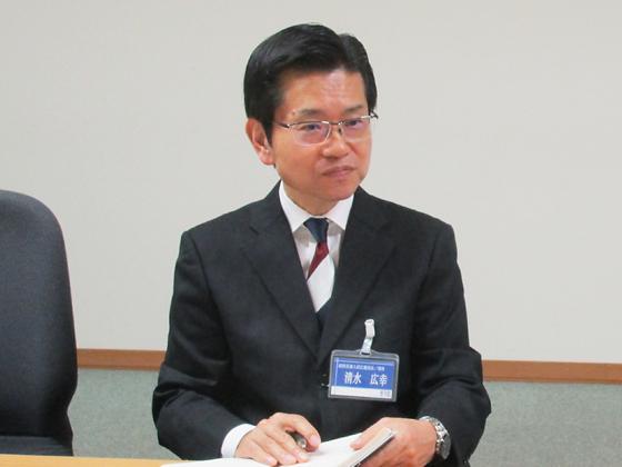 副校長/清水 広幸 先生