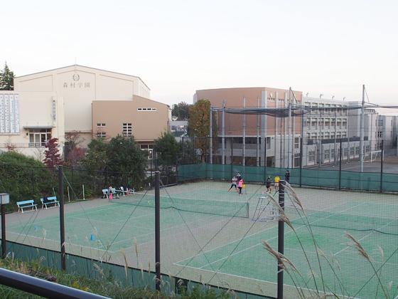 森村学園 テニスコート