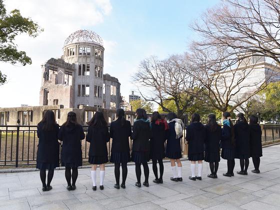 フェリス女学院中学校 広島研修旅行